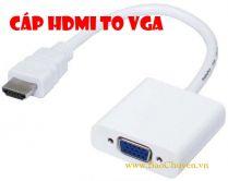 Cáp chuyển đổi HDMI sang VGA Adapter
