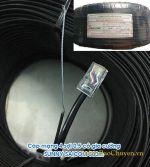 Cáp mạng 4 sợi có gia cường SAICOM 500m, lõi cứng