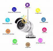 CAMERA IP WIFI NGOÀI TRỜI CHỐNG NƯỚC – VIMTAG B1-C – 720P HD, 1.0 MPX