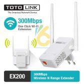 Bộ mở rộng sóng wifi TOTOLINK EX200, tưởng không cần nhưng ai cũng cần