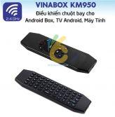 Chuột bay tích hợp bàn phím KM950V có voice, sử dụng pin sạc