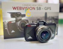 WEBVISION S8 – CAMERA HÀNH TRÌNH THÔNG MINH SỐ 1