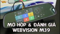 WEBVISION M39 – CAMERA HÀNH TRÌNH 10 TRONG 1