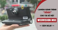 """WEBVISION N93 – CAMERA HÀNH TRÌNH ĐỈNH """"4 TRONG 1"""""""