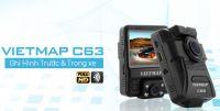 Vietmap C63 - Ghi hình cùng lúc trước và trong xe, định vị GPS, cảnh báo tốc độ