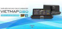 Vietmap D20 - Camera hành trình dẫn đường đặt Taplo, tích hợp phát wifi 3G