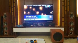 Bộ dàn âm thanh nghe nhạc, xem phim, karaoke gia đình cao cấp khuyến mãi