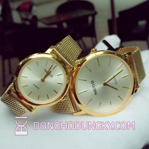 Ultra-thin watches genuine couple Neos N-40685m - FG7A