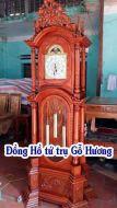 Đồng hồ tứ trụ gỗ hương vân