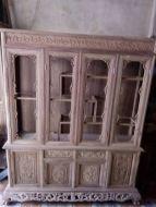 Tủ rượu hình chữ nhật gỗ hương vân 1m4