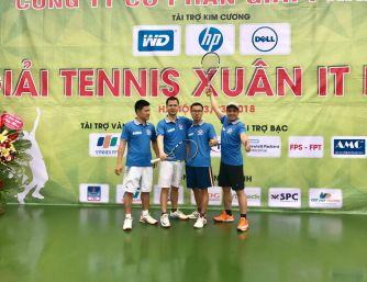 HOANGNGUYENCCTV.COM- Giải tennis Xuân IT Hà Nội lần 1