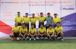 FC Hoàng Nguyễn tham dự giải bóng đá từ thiện gây quỹ mổ tim cho trẻ em nghèo - Phúc Bình CUP