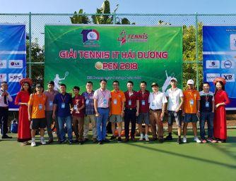 Giải Tenis IT Hải Dương mở rộng 2018