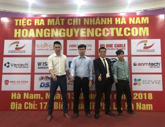 HOANGNGUYENCCTV.COM Tổ chức đào tạo HcSA và khai trương chi nhánh Hà Nam