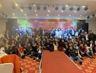 HOANGNGUYENCCTV.COM tham dự Tiệc tất niên Hội IT Cầu Giấy - Từ Liêm