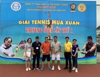 Giải Tennis mùa xuân Taesung Open lần thứ 1