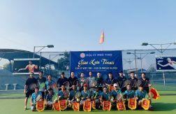 HOANGNGUYENCCTV Tham gia buổi giao lưu Tennis giữa CLB IT Phú Thọ & CLB Cá Khoai