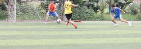 Diễn biến trận bóng giữa 2 đội Hoàng Nguyễn FC - MB Bank Xuân Thủy FC Giải Phucbinh Cup