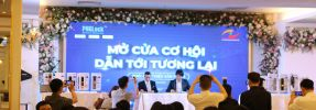 HOANGNGUYENCCTV.COM tổ chức chương trình MỞ CỬA CƠ HỘI DẪN TỚI TƯƠNG LAI, giới thiệu khoá điện tử vân tay PHgLOCK