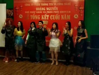 Bộ sưu tập thời trang chào xuân Kỷ Hợi Hoàng Nguyễn CCTV