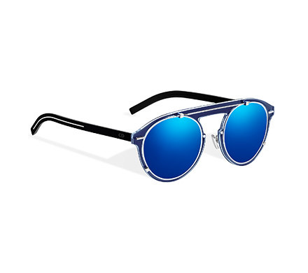 DIORGENESE SUNGLASSES, NAVY BLUE