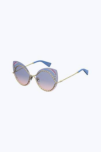 MARC JACOBS Metal Twist Sunglasses