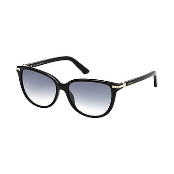 SWAROVSKI EDITH BLACK SUNGLASSES