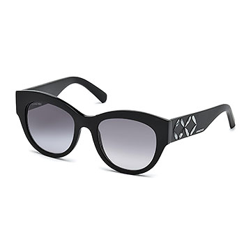 SWAROVSKI BLACK SUNGLASSES