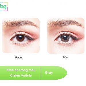 Kính áp tròng màu Clalen Vuticle – GRAY