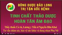 """L/y Nguyễn Hữu Khai giới thiệu thuật """"Hoàn Tân"""" của Hạ Cơ"""