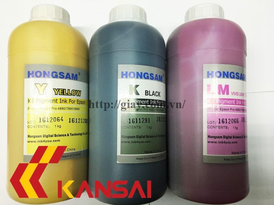 Mực Pigment Hongsam 1L