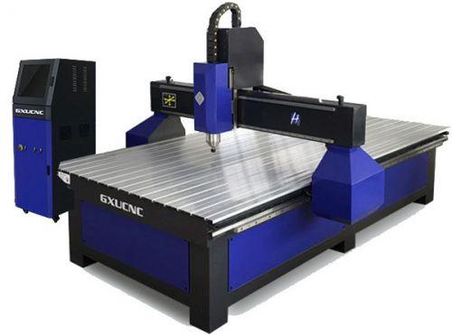 Máy cắt khắc CNC GXU H1- 2500 5.5KW  Không tủ, có hút chân không, có bơm