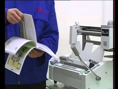 Video hướng dẫn sử dụng máy đóng keo gáy 320S