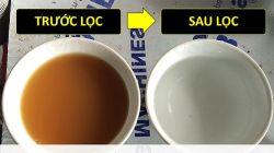 Xử lý nước sinh hoạt từ giếng khoan