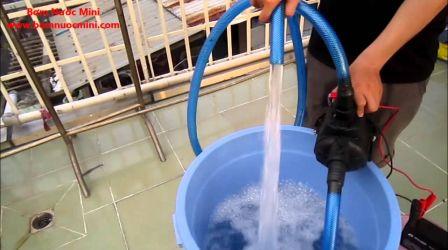 Máy bơm nước 12V lưu lượng lớn