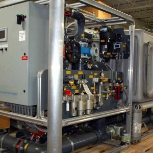 Mobile Water Treatment using RO and EDI Systems with GE Wate