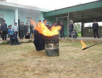 Tập huấn phòng cháy chữa cháy