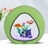 Tiểu cảnh bể cá mini để bàn đẹp mãi ( xanh lá )