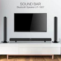 loa thanh tivi 3D âm thanh nổi DM LP-1807 ( Tặng cáp quang )