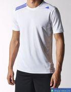 Áo Thể Thao Nam Adidas Trắng AA004