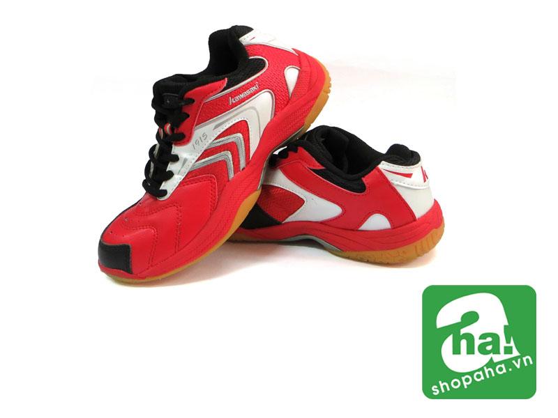 Giày Cầu Lông Màu Đỏ Viền Trắng CLM09