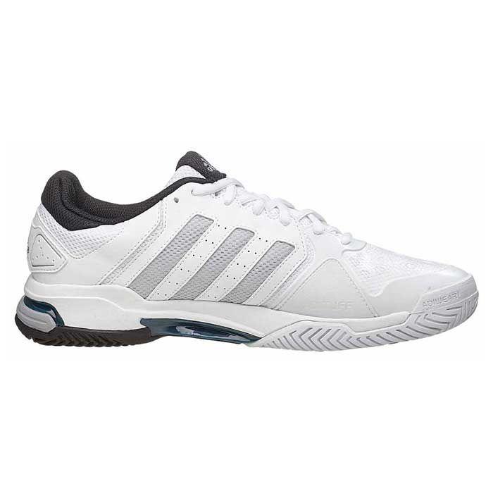 Giày Tennis Ráp Đế Chính Hãng Adidas Trắng Xám