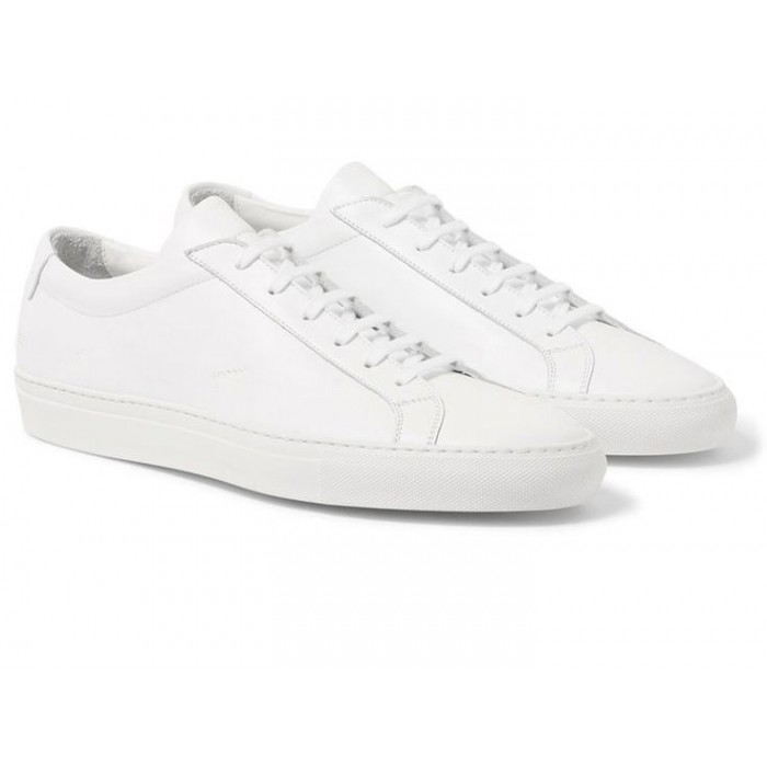GIÀY SNEAKER LEATHER FULL WHITE