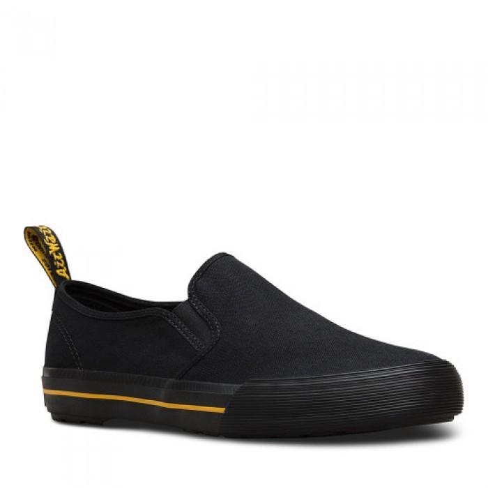 Giày Thể Thao Size Lớn Dr Martens Đen Không Dây