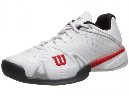 Giày Tennis Wilson Trắng-Đỏ-Đen