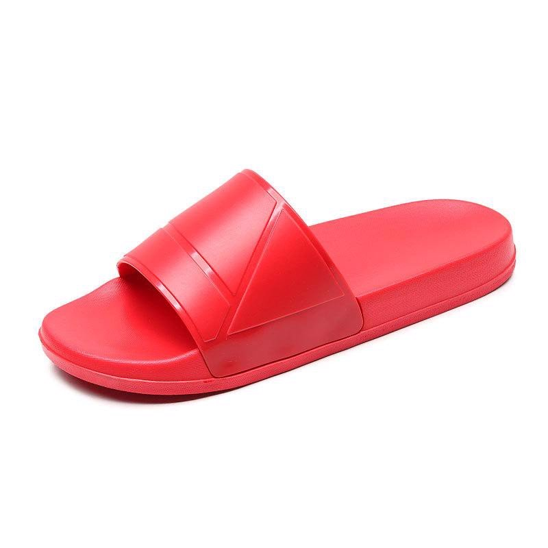 Dép Quai Ngang Slang Shoe Big Size 46 47 48 49 (Red)