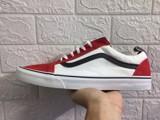 Giày Sneaker Vans Old Skool Đỏ Trắng