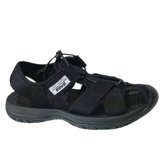 Dép Sandal Bít Mũi KingDom Màu Đen Size Lớn