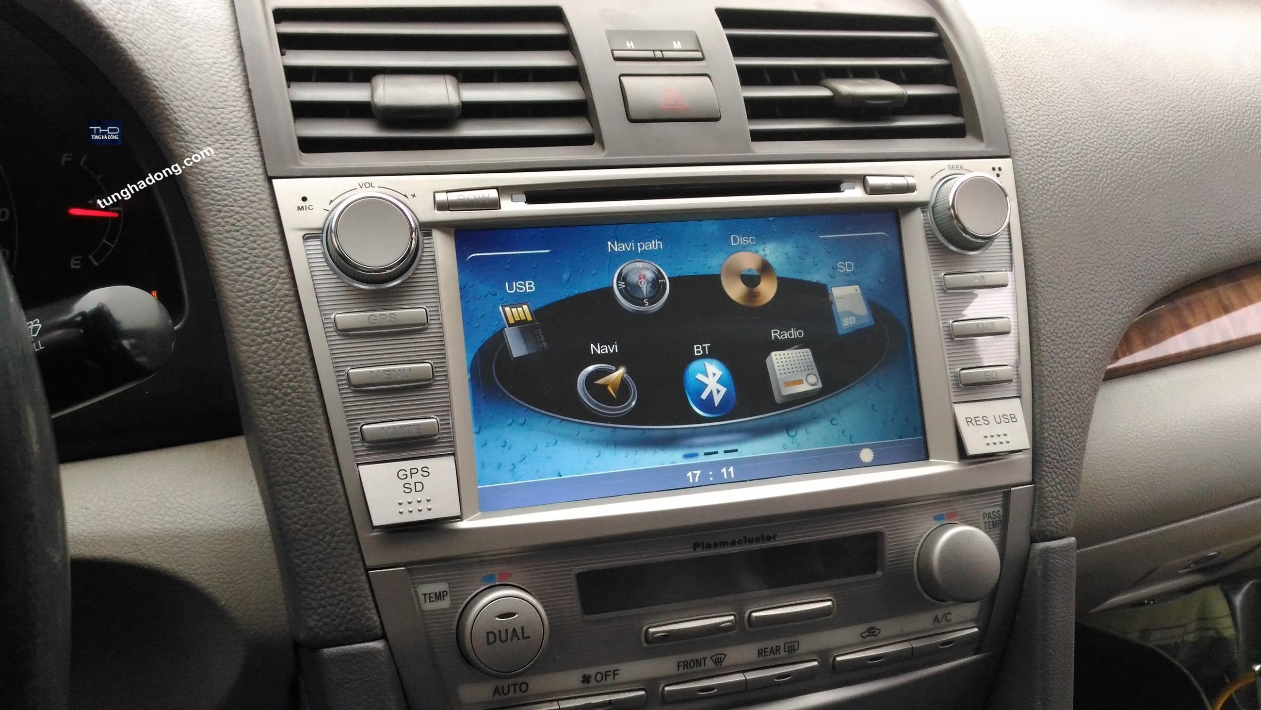 Màn DVD theo xe Toyota – Camry 2008 - 2010