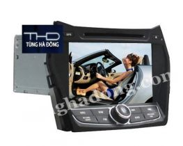 Màn DVD theo xe Hyundai Santafer